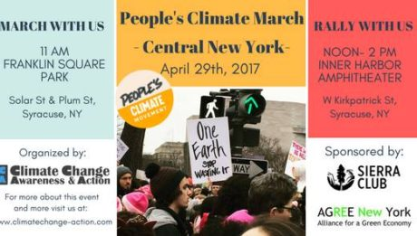 People's Climate March Central New York